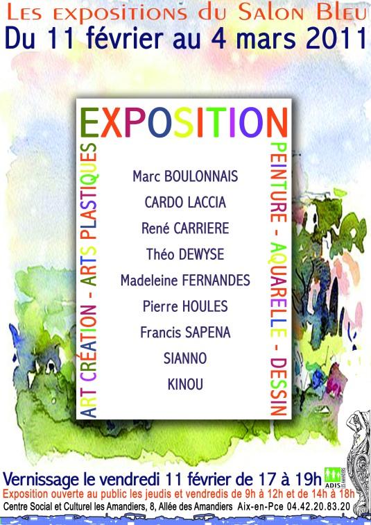 EXPOSITION DE PEINTURE DE LEONARD et ses Amis