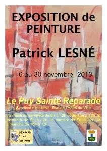affiche-lepuy-Patrick LESNE