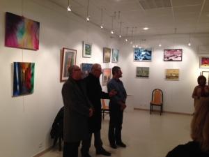 Mr Puech, Mr Meï, et Marc Boulonnais