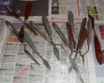les couteaux à peindre