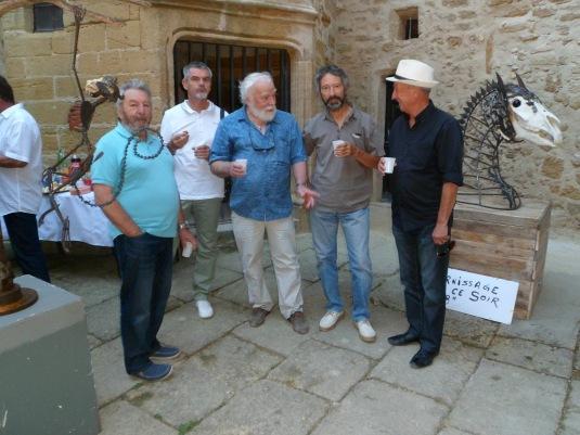 Francis Sapena ( Iro), Marc Boulonnais, Patrick Lesné, Pierre Houles et un ami ( qui sait, futur membre Léo )