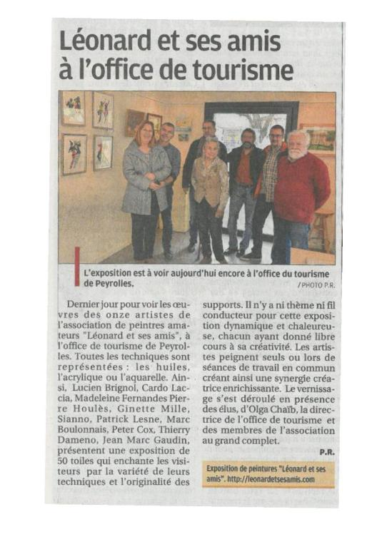 article-la-provence-vernissage