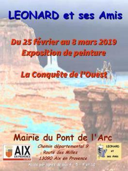 PONT DE L'ARC AFFICHE