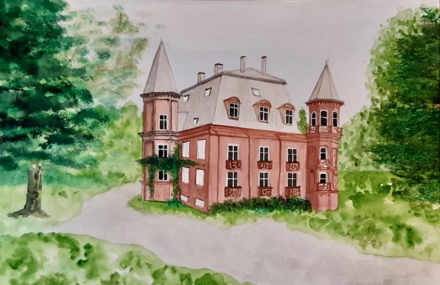 Château Laedrich à Moussey Vosges